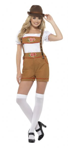 Sexy Bavarian Beer Girl